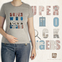 Super-Who-Lock-Vengers t-shirt / Supernatural , Doctor Who, Sherlock, the Avengers