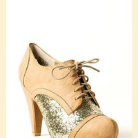 Twizzle Oxford Heel