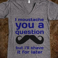 Moustache - t-shirts/tanks and more
