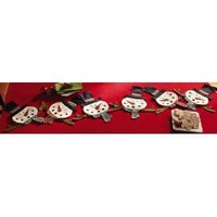 Amazon.com: Fun Snowman Snow Man Table Runner Fun Linked Unique Christmas Holiday Winter Decor Brand New: Everything Else