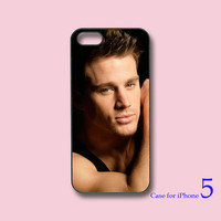 Channing Tatum -- iPhone 4  case, iphone 5 Case , in durable black or white plastic or silicone