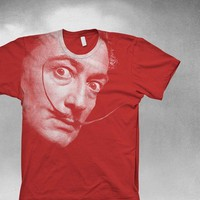 Salvador Dali Mens Tshirt by vortextradingcompany on Etsy
