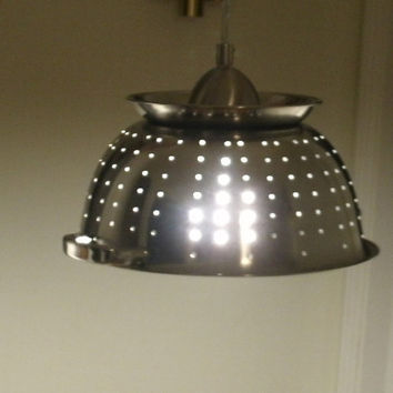 Ultimate Kitchen Colander Light by Midwestclassiccrafts on Etsy