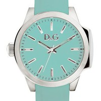 Dolce &amp; Gabbana Salt &amp; Pepper Wristwatch for Her Silicone strap