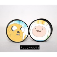 Adventure Time Plugs by Plug-Club