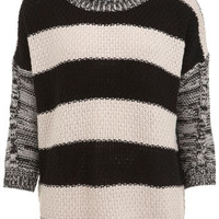 Stripe Back Boxy Jumper - View All  - New In