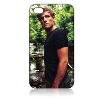 Josh Hutcherson Hard Case Skin for Iphone 4 4s Iphone4 At&t Sprint Verizon Retail Packing.