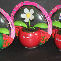 (3) Assorted Dancing Flip Flap Solar Flower, Lady Bug, Bee, Butterfly, car decor