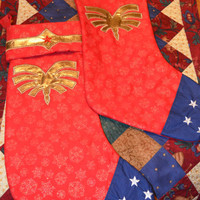 Wonder Woman inspired Christmas Stocking
