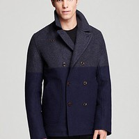 Paul Smith Pea Coat | Bloomingdale's