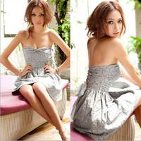 2012 Women Lady Gift Korean Japan Stylish Korea Mini Club Dress o Fashion Wear