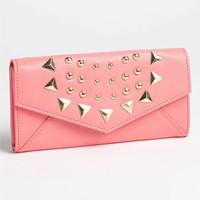 Lulu Studded Envelope Wallet | Nordstrom