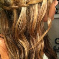 My Beautiful Life / Waterfall braid