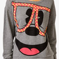 Polka Dot Mickey Mouse Pullover