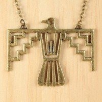 Tribal Hawk Necklace