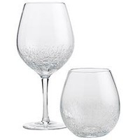 Product Details - Crackled Wine Glasses