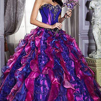 Prom Dresses, Celebrity Dresses, Sexy Evening Gowns at PromGirl: Quinceanera Dress 26659