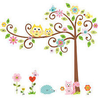 RoomMates Scroll Tree Peel &amp; Stick Mega Pack Wall Decals - York Wall Coverings - Toys &quot;R&quot; Us