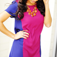 EVERLY: Time Stands Still Tunic: Fuschia | Hope's