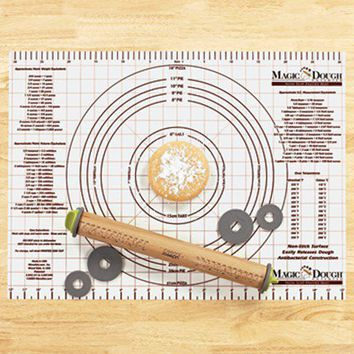 Pastry Mat & Rolling Pin - Fresh Finds - Cooking > Gadgets & Tools