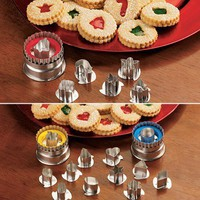 Linzer Cookie Cutter Set - Fresh Finds - Cooking &gt; Dessert