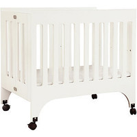 Walmart.com: Baby Mod - Rainbow Mini Crib, White: Furniture