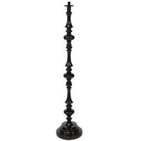 Heal's | Ripple Dark Wooden Floor Lamp > Floor Lamp Bases