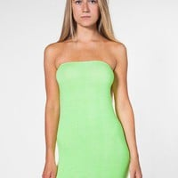 American Apparel - Cotton Spandex Jersey Too-Short Tube Dress
