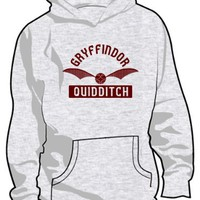 Harry Potter: Gryffindor Quidditch Hooded Sweatshirt