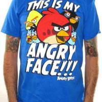ROCKWORLDEAST - Angry Birds, T-Shirt, My Angry Face