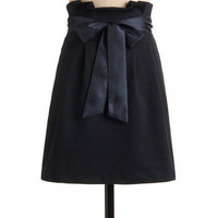 Yes No or Navy Skirt | Mod Retro Vintage Skirts | ModCloth.com