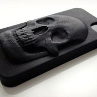 3D Printed Skull iPhone Case | Cool Material