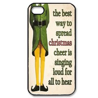 Christmas Elf Movie Quote Iphone 4 / 4s Case Black
