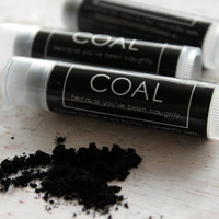 COAL Lip Balm.  Because you have been naughty.