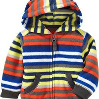 Micro Performance Fleece Bear Hoodies for Baby | Old Navy