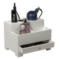 Richards Homewares 987501000 Personal Hair Styling Organizer - White