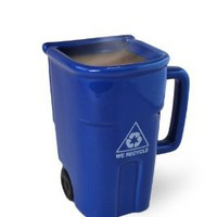 Big Mouth Toys The Recycling Bin Mug: Amazon.com: Kitchen & Dining