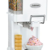 Cuisinart ICE-45 Mix It In Soft Serve 1-1/2-Quart Ice-Cream Maker, PURPLE