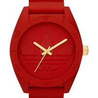 adidas Watch, Red Silicone Strap 50mm ADH2714 - All Watches - Jewelry & Watches - Macy's