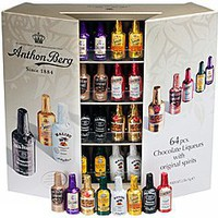 Anthon Berg Chocolate Liquor Bottles 64CT Box