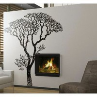 Amazon.com: Stickerbrand Vinyl Wall Decal Sticker Bare Autumn Tree #240A 6ft Tall: Everything Else