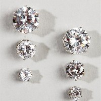 Crystal Earring Set