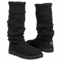 Amazon.com: UGG Australia Over the Knee Twisted Cable Womens Boot: Shoes