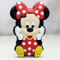 Amazon.com: Deco Fairy Branded 3D Cute Cartoon Mouse Soft Silicone Case Cover: Cell Phones &amp; Accessories