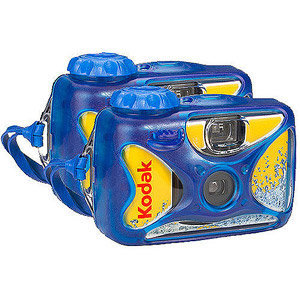 Walmart.com: Kodak Waterproof Disposable 'One Time Use' Film Camera with 27 Exposures, 2-Pack: Digital Cameras