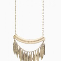 Tribal Fringe Necklace - NASTY GAL