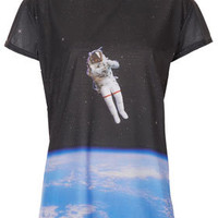 Astronaut Tee By Tee And Cake - Tops  - Clothing