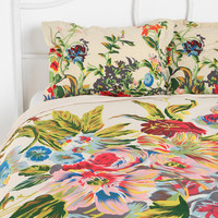 Romantic Floral Scarf Shams - Set of 2