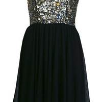 Petites Gem Vintage Dress - Prom Dresses  - Dress Shop