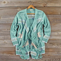 Rooftop Sweater in Mint, Cozy Women's Sweaters